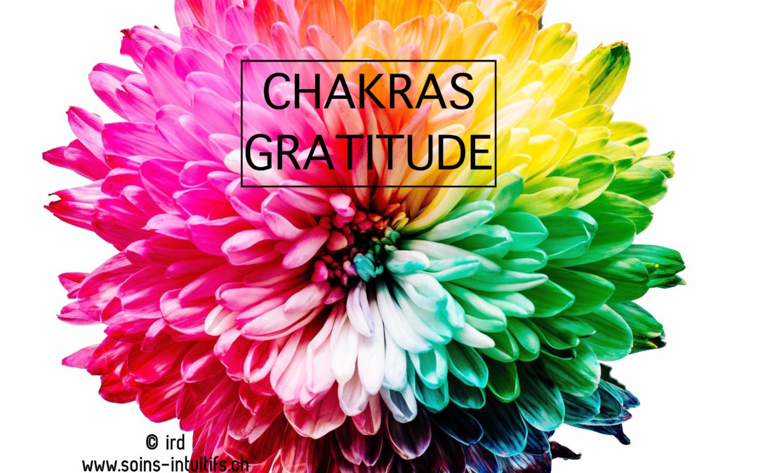 Atelier Chakras – Gratitude  : Jeudi 12 avril 2018