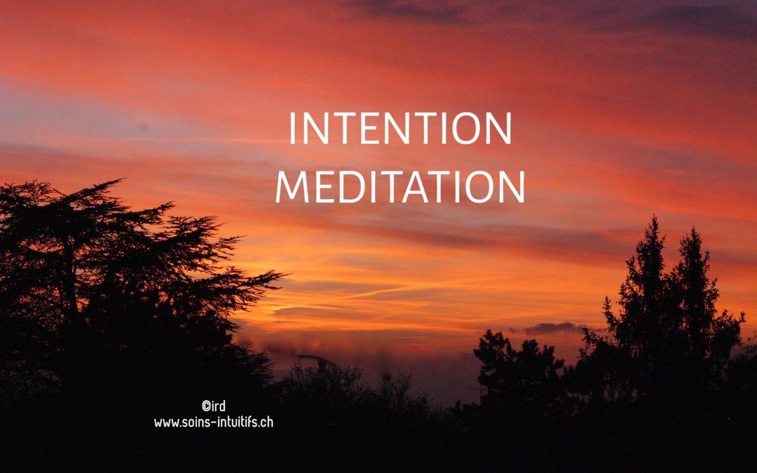 Atelier Intention – Méditation