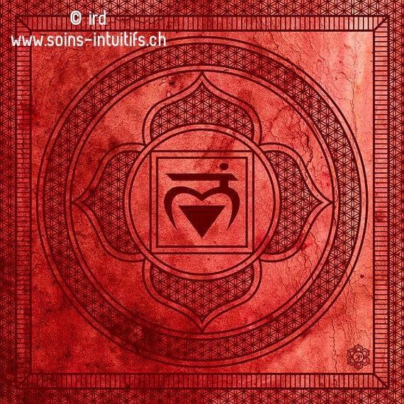 Le chakra Muladhara – racine