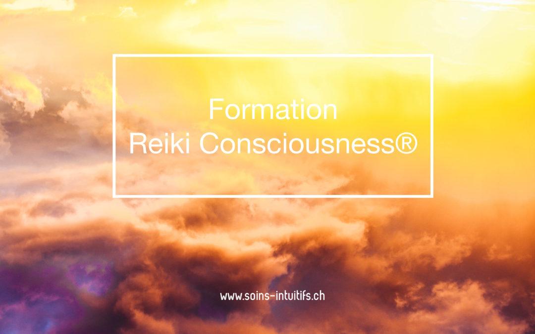Formation Reiki Consciousness® – Praticien – 1ère session 2019