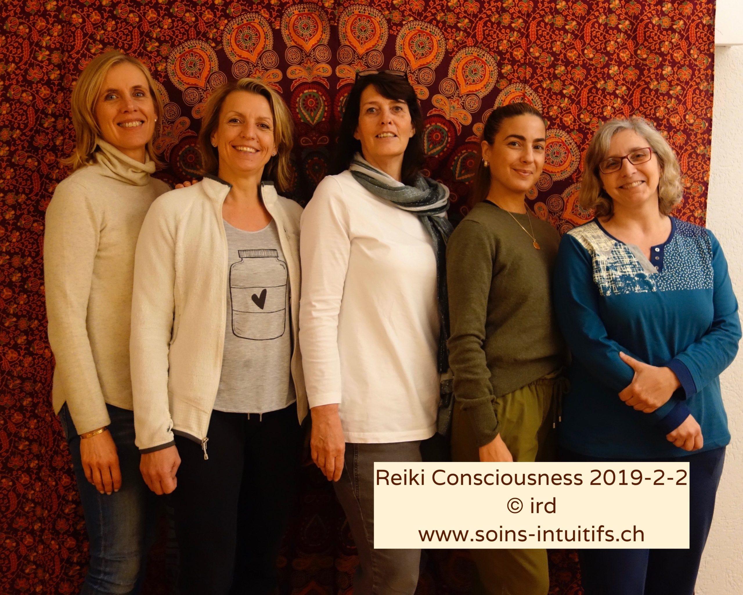 Stagiaires Reiki Consciousness - suite