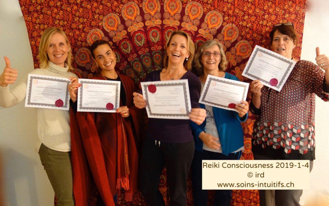 Nouveaux Maitres Reiki Consciousness® Praticiens
